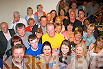 Lisa Dowling, Stacks Villas, Tralee (front centre) had a smashing time celebrating her 40th birthday at her home last Saturday night surrounded by many friends and family.