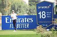 Mikko Korhonen (FIN) in action during previews ahead of the DP World Championship, Earth Course, Jumeirah Golf Estates, Dubai, UAE. 19/11/2019<br /> Picture: Golffile | Phil INGLIS<br /> <br /> <br /> All photo usage must carry mandatory copyright credit (© Golffile | Phil INGLIS)