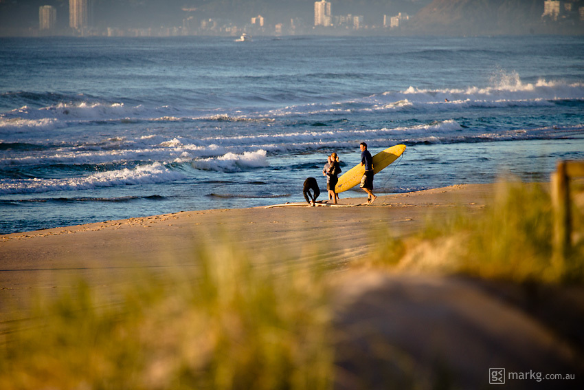 Early morning waves - Gold Coast, Australia