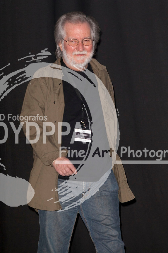American film director Tobe hooper arrives to Palafox Cinema to recieve the Master Fantasy Prize into de Nocturna Fantasy Festival in Madrid on May 29, 2014. Photo by Nacho Lopez/ DyD Fotografos-DYDPPA