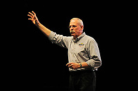 LONDON, ENGLAND - MAY 13: Steve Murphy speaking at 'DEA NARCOS' at Brixton Academy on May 13, 2018 in London, England.<br /> CAP/MAR<br /> &copy;MAR/Capital Pictures