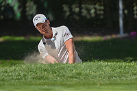 Danny Willett (GBR) hits from the trap on 1 during round 1 of the World Golf Championships, Mexico, Club De Golf Chapultepec, Mexico City, Mexico. 2/21/2019.<br /> Picture: Golffile | Ken Murray<br /> <br /> <br /> All photo usage must carry mandatory copyright credit (© Golffile | Ken Murray)