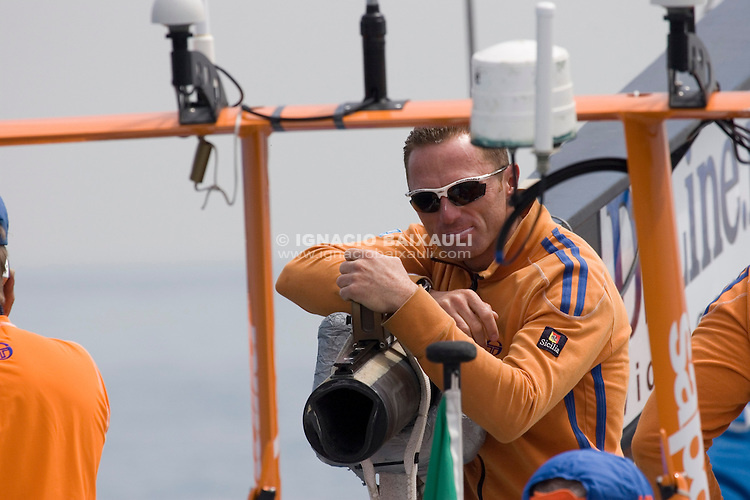 +39 Challenge -  - LOUIS VUITTON CUP - ROUND ROBIN 1 - DAY 1,2,3,4,6,8 - Races cancelled - 2007 abr 16