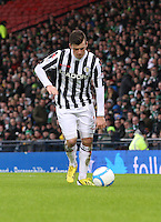 Graham Carey in the St Mirren v Celtic Scottish Communities League Cup Semi Final match played at Hampden Park, Glasgow on 27.1.13.
