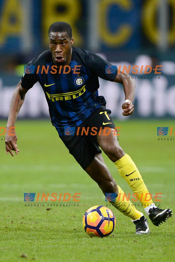 Geoffrey Kondogbia Inter<br /> Milano 14-01-2017 Stadio Giuseppe Meazza - Football Calcio Serie A Inter - Chievo Verona. Foto Giuseppe Celeste / Insidefoto