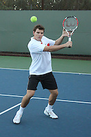 STANFORD, CA - NOVEMBER 16:  Ted Kelly of the Stanford Cardinal during photo day on November 16, 2009 at the Taube Family Tennis Stadium in Stanford, California.
