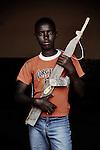Museven.Ex-enfant soldat. Bukavu, RDC, juillet 2013.