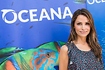 "Spanish model Almudena Fernandez during the presentation of the campaign ""#StopOverFishing"" of Oceana at Oceana headquarter in Madrid. March 23, 2017. (ALTERPHOTOS/Borja B.Hojas)"