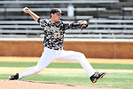 21 May 2016: Wake Forest's Drew Loepprich. The Wake Forest University Demon Deacons played the University of Louisville Cardinals in an NCAA Division I Men's baseball game at David F. Couch Ballpark in Winston-Salem, North Carolina. Louisville won the game 9-4.