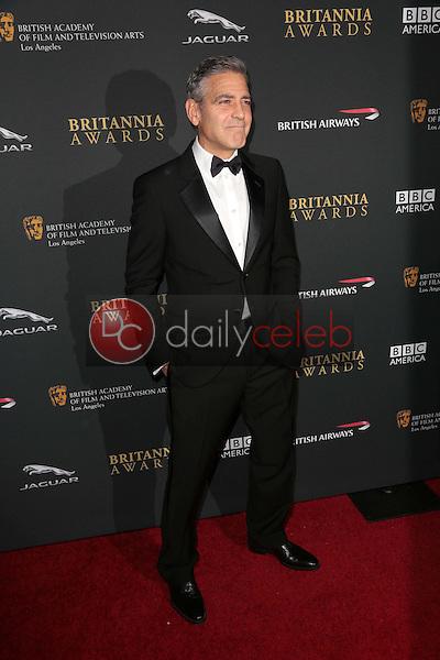George Clooney<br /> at the 2013 BAFTA LA Jaguar Britannia Awards, Beverly Hilton Hotel, Beverly Hills, CA 11-09-13<br /> Dave Edwards/DailyCeleb.com 818-249-4998