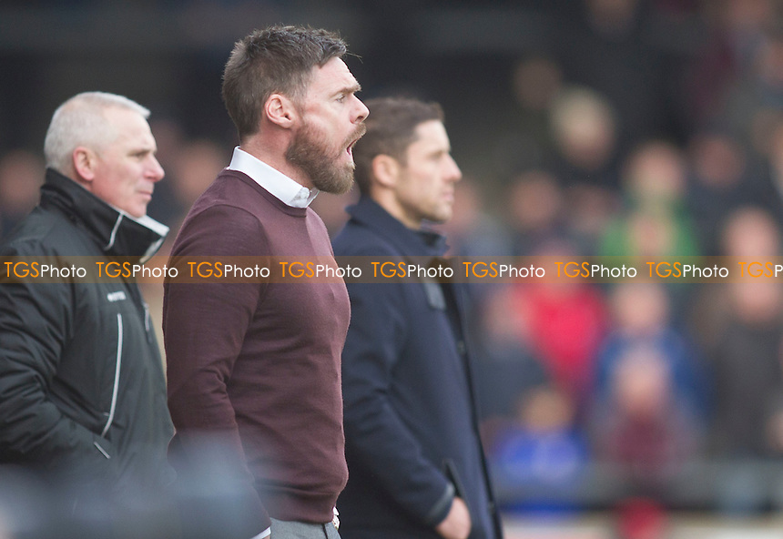 Graham Alexander Scunthorpe manager during Scunthorpe United vs Port Vale, Sky Bet EFL League 1 Football at Glanford Park on 28th January 2017