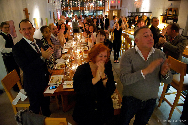 Standing Ovation for the Kitchen.