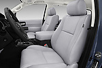 Front seat view of a 2018 Toyota Sequoia Limited Auto 5 Door SUV front seat car photos