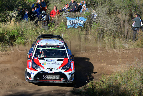 April 27th 2017, Cordoba, Argentina; WRC YPF Rally Argentina 2017 , stages SS1-SS5;  HANNINEN