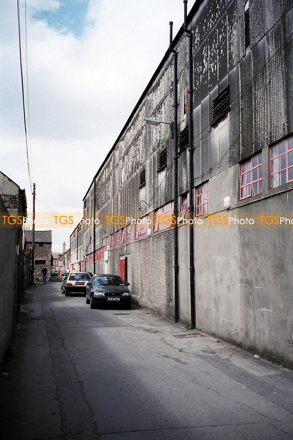 General view outside Bohemian FC Football Ground, Dalymount Park, Phibsborough, Dublin, Ireland, pictured on 15th August 1997