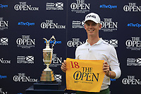 Brandon Stone (RSA) after the final round of the Aberdeen Standard Investments Scottish Open, Gullane Golf Club, Gullane, East Lothian, Scotland. 15/07/2018.<br /> Picture Fran Caffrey / Golffile.ie<br /> <br /> All photo usage must carry mandatory copyright credit (&copy; Golffile | Fran Caffrey)