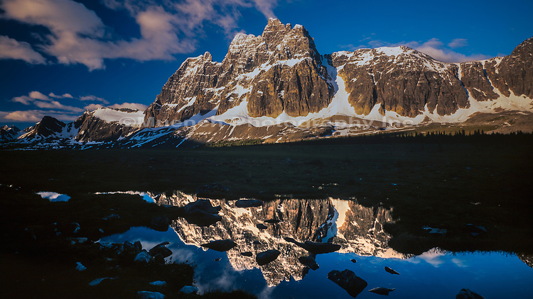 The Ramparts,Tonquin Valley,Jasper National Park,Canada AB