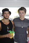Bryan Craig, Chad Duell donated time at 15th Southwest Florida Soapfest 2014 Charity Weekend - at Cruisin' and Schmoozin' on May 25, 2104 aboard the Marco Island Princess (boat), Marco Island, Florida.  (Photo by Sue Coflin/Max Photos)
