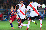Lionel Messi (Barcelona), <br /> DECEMBER 20, 2015 - Football / Soccer : <br /> FIFA Club World Cup Japan 2015 <br /> Final match between River Plate 0-3 Barcelona  <br /> at Yokohama International Stadium in Kanagawa, Japan.<br /> (Photo by Yohei Osada/AFLO SPORT)