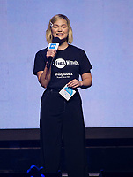 CHICAGO, IL: MAY 8: Olivia Holt speaks onstage during the 2019 WE DAY Illinois at the Allstate Arena on May 8, 2019 in Chicago, Illinois. <br /> CAP/MPI/ISDD<br /> ©MPIISDD/Capital Pictures