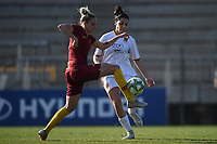 Emma Lipman of AS Roma and Serena Landa of Roma CF during the Women Italy cup round of 8 second leg match between AS Roma and Roma Calcio Femminile at stadio delle tre fontane, Roma, February 20, 2019 <br /> Foto Andrea Staccioli / Insidefoto