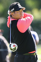 02/20/11 Pacific Palisades, CA: K.J. Choi during the final round of the Northern Trust Open held at the Riviera Country Club.