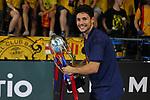 League LNFS 2018/2019.<br /> Play Off. Game: 5.<br /> FC Barcelona Lassa vs El Pozo Murcia: 3-2.<br /> Roger.