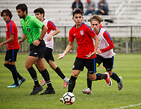 USMNT U-17 vs USMNT U-16, January 3, 2018