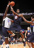 Greg Lewis at the NBPA Top100 camp June 17, 2010 at the John Paul Jones Arena in Charlottesville, VA. Visit www.nbpatop100.blogspot.com for more photos. (Photo © Andrew Shurtleff)