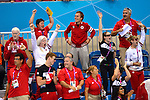 LONDON, ENGLAND - 31/08/2012 - Members of Team Canada celebrate after Summer Mortimer's Gold Medal victory in the 50m Freestyle Final during the London 2012 Paralympic Games at the Aquatics Centre. (Photo: Phillip MacCallum/Canadian Paralympic Committee)