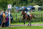Stamford, Lincolnshire, United Kingdom, 7th September 2019, Ludwig Svennerstal (SWE) riding Stinger during the Cross Country Phase on Day 3 of the 2019 Land Rover Burghley Horse Trials, Credit: Jonathan Clarke/JPC Images