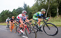 Picture by Allan McKenzie/SWpix.com - 04/09/2017 - Cycling - OVO Energy Tour of Britain - Stage 2 Kielder Water to Blyth - The breakaway with BMC's Silvan Dillier & An Post Chain Reaction's Jacob Scott.