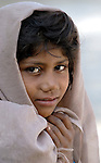 Pakistani girl in Mirpurkhas, Sindh. This area has long been plagued by huge landowners forcing poor families into slavery.
