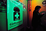 "A customer walks past a poster advertising the AIDS test offered free-of-charge by a doctor of an HIV awareness group at a bar in Tokyo, Japan. Gynaecologist Dr Tsuneo Akaeda, who visits the Tokyo bar as part of the Girl's Guard volunteer group, says the number of HIV infection rates surged in 2008 to about 5,000 compared with 1,500 a year earlier. ""The figure is probably much higher because there are people who probably have it but are too scared to be diagnosed,"" Akaeda says. ""Awareness in Japan is on the 'it couldn't happen to me' level,"" says a customer who undertook the test offered by Akaeda at the Club Jamaica bar in Tokyo's notorious Roppongi entertainment district."
