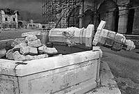 Gemona, Terremoto del Friuli del Maggio 1976.<br /> Gemona, Friuli earthquake in May 1976.