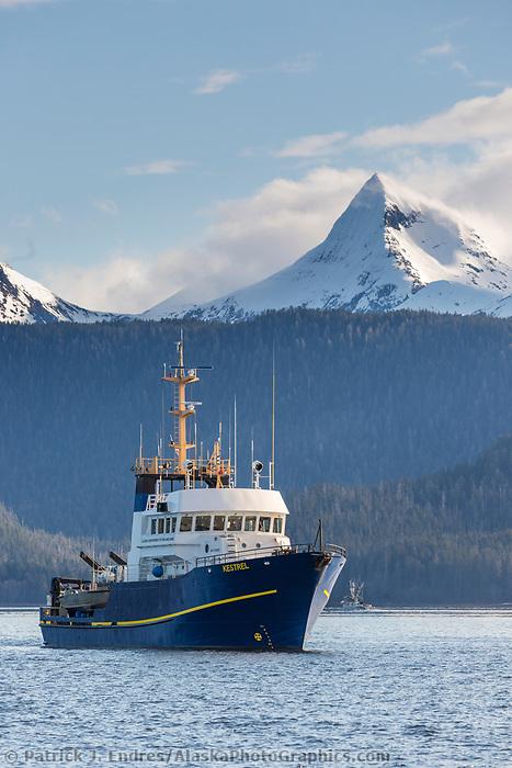 Near Sitka Sound, southeast, Alaska.