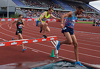 Zak Seddon of Great Britain competing in the Men's 3000m Steeplechase during the Muller Grand Prix  IAAF Diamond League meeting at Alexander Stadium, Perry Barr, Birmingham.<br /> Picture by Alan Stanford +44 7915 056117<br /> 18/08/2018