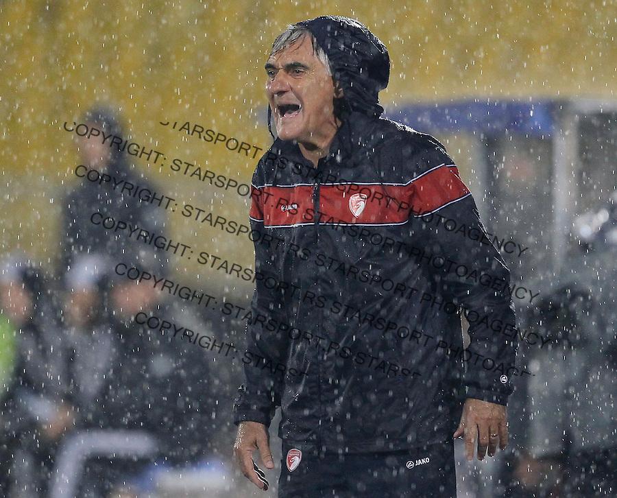 Fudbal Super liga season 2013-2014<br /> Partizan v Radnicki Kragujevac<br /> Head coach Radmilo Ivancevic<br /> Beograd, 25.08.2013.<br /> foto: Srdjan Stevanovic/Starsportphoto &copy;