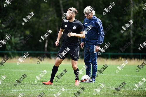 2016-07-13 / Voetbal / Seizoen 2016-2017 / Training KFCO Beerschot Wilrijk / Hakim Borahsasar <br /> <br /> Foto: Mpics.be