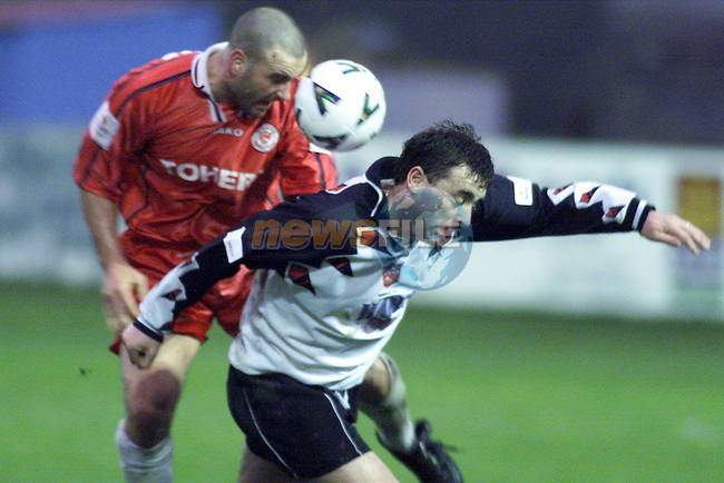 John Ryan in action for Dundalk against Sligo Rovers in United Park. The game was played in Drogheda due to foot and mouth restrictions in Dundalk..Picture: Paul Mohan/Newsfile