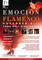"Flamenco, ""Emocion"" Dress Rehearsal"