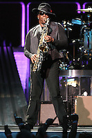 10-30-07 Los Angeles, CA. Clarence Clemons,Bruce Springsteen and the E Street Band perform at the Los Angeles Sports Arena.