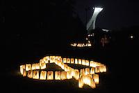 Montreal (QC) CANADA - June 8 2012 -  Relai pour la vie de la Societe canadienne du cancer  2012 - Montreal-Centre au Parc Maisonneuve