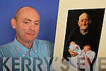 Tralee photographer Robert OMahony with his prize-winning photograph.