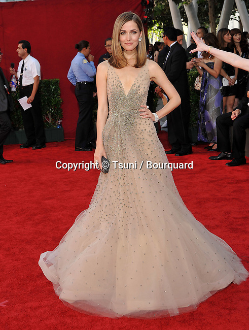 Rose Byrne-<br /> 61st Primetime EMMY Awards at the Nokia Theatre In Los Angeles.