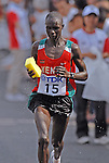 11th IAAF World Championships,Osaka 2007..Marathon/ Luke Kibet (KEN). Medalla de oro.