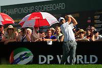 Francesco Molinari (ITA) on the third day of the DUBAI WORLD CHAMPIONSHIP presented by DP World, Jumeirah Golf Estates, Dubai, United Arab Emirates.Picture Fran Caffrey www.golffile.ie