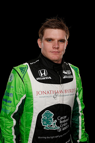 2 February, 2016, Indianapolis, Indiana USA<br /> Conor Daly<br /> ©2016, Michael L. Levitt<br /> LAT Photo USA