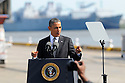 President Barack Obama at Port of New Orleans