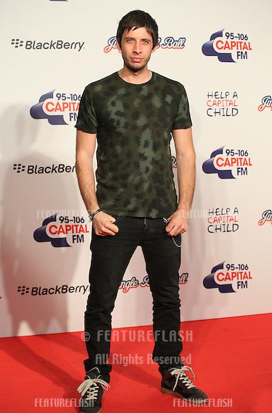 Example arriving for the Capital Radio Jingle Bell Ball, O2 Arena, London. 09/12/2012 Picture by: Alexandra Glen / Featureflash